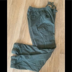 Galaxy NWT Army Green Cargo Pants Sz Med